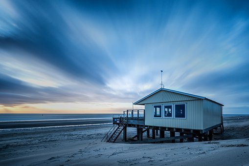 House, Beach, Coast, Sand, Coastline, Shore, Seashore