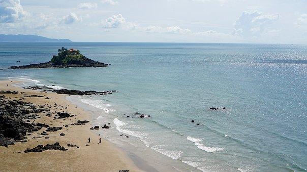 Ocean, Sea, Waves, Water, Sky, Travel, Nature, Clouds