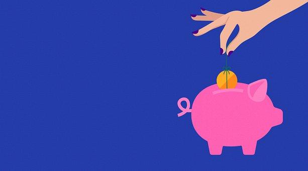 Pig, Save, Finance, Piggy Bank, Icon, Idea, Concept