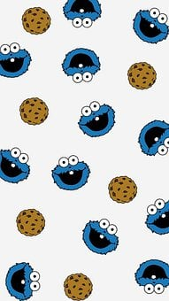 Cookie Monster, Cookies, Cartoon, Icons, Cookie Icons
