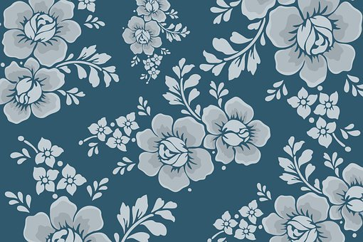 Flowers, Design, Floral, Pattern, Stems, Plants