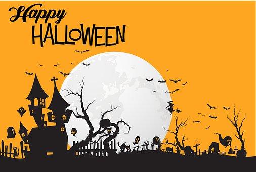 Halloween, Greeting, Happy Halloween, Card