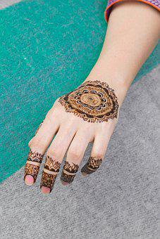 Hand, Henna, Mehndi, Art, Fashion, Design, Tattoo