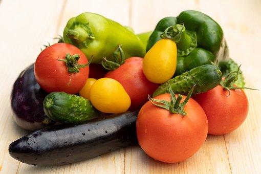 Vegetables, Still Life, Fresh, Harvest, Produce