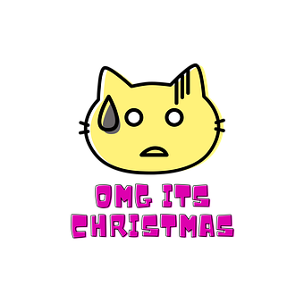 Cat, Feline, Pet, Kitten, Christmas, Animal, Fur, Head