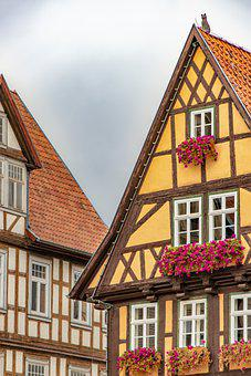 Houses, Buildings, Half Timbered Houses, Fachwerkhaus