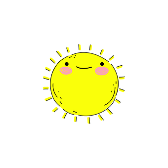 Sun, Sunshine, Doodle, Icon, Drawing, Flat Drawing
