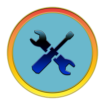 Tools, Fix, Icon, Button, Media, Wrench, Screwdriver