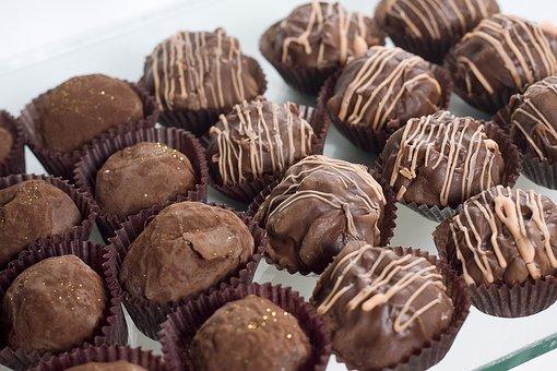 Candies, Chocolates, Truffles, Pralines
