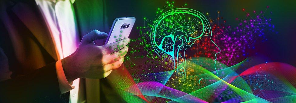 Smartphone, Brain, Control, Artificial Intelligence