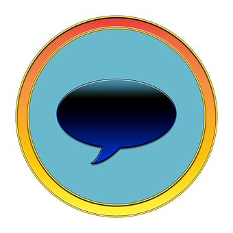 Thought Bubble, Message, Icon, Button, Media, Speak