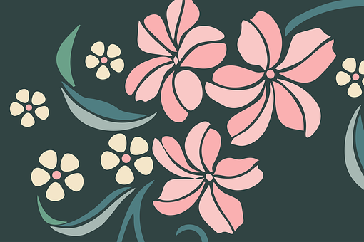 Flowers, Design, Floral, Pattern, Stems, Plants