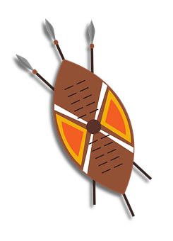 Shield, Armour, Traditional, African, Zulu, Xhosa