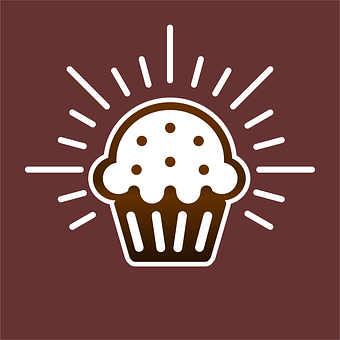 Cupcake, Muffin, Icon, Dessert, Sweets, Cupcake Icon