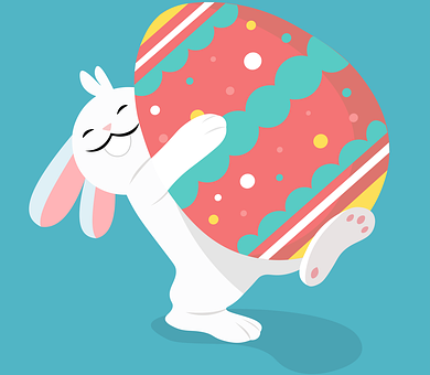 Easter, Rabbit, Egg, Cute, Spring, Bunny, Icon