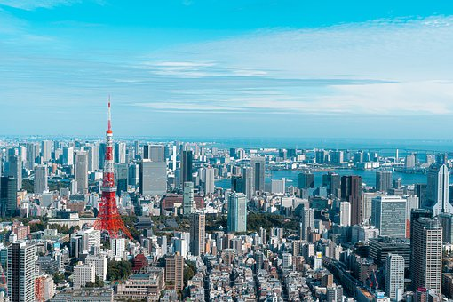 Tokyo Tower, Tokyo, Japan, Tower, Cityscape, Skyline