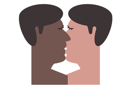 Person, Man, Kiss, Homosexuality, Pair, Love
