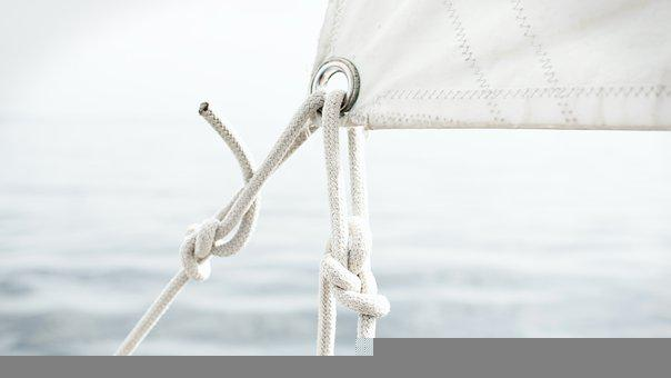 Sail, Sailing, Ropes, Tie, Knots, Rigging, Cordage