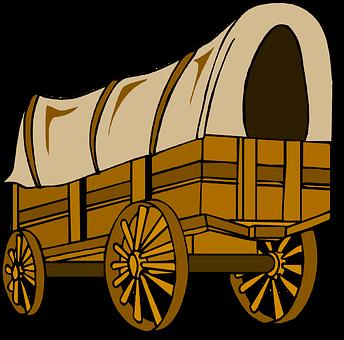 Wagon, Ox, Pioneer, Pilgrim, Frontier