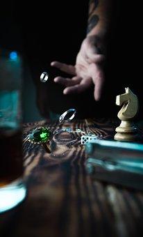 Rings, Hand, Jewelry, Bracelet, Chess