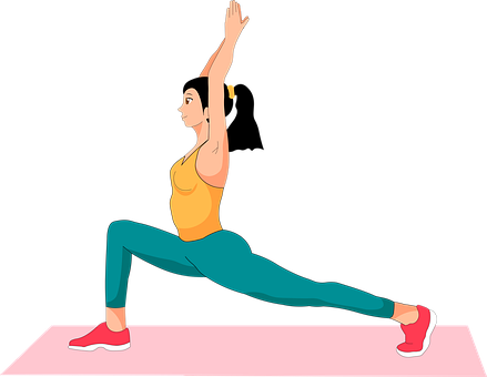 Woman, Avatar, Stretch, Stretching, Exercise, Yoga