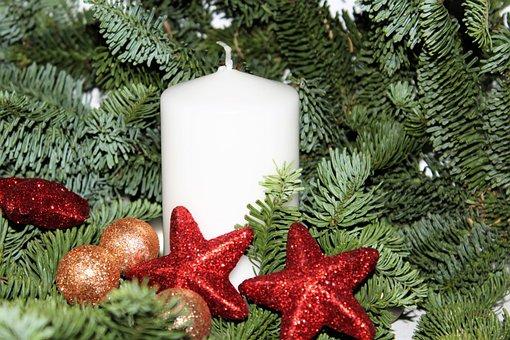 Advent, Poinsettia, Christmas, Christmas Decoration
