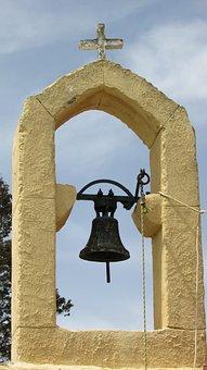 Cyprus, Vrysoules, Church, Belfry, Ayia Eirini