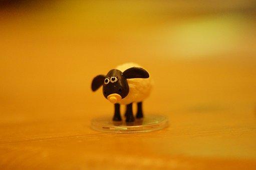 Sheep, Shaun The Sheep, Timmy, Baby Sheep, Lamb