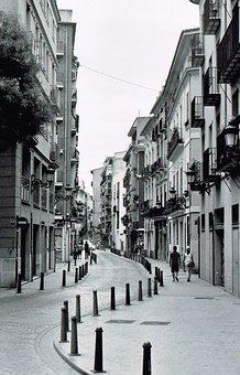 Street, City, Architecture, Building, City Street