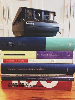 Copyright, Books, Camera