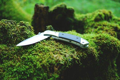 Knife, Campingmesser, Pocket Knife, Blade
