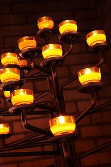 Sacrificial Lights, Candles, Tealight, Candles Tree