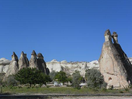 Turkey, Cappadocia, Erosion, Tuff, Unesco, Goreme