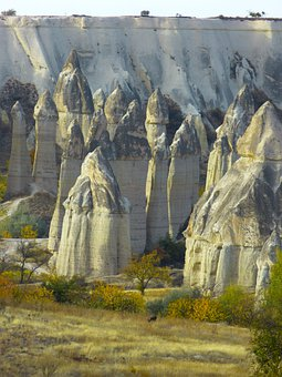 Fairy Chimneys, Tufa, Rock Formations, Cappadocia