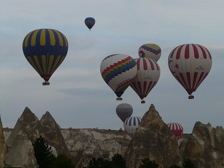 Hot Air Balloons, Captive Balloons