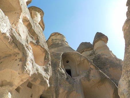 Turkey, Cappadocia, Fairy Chimneys, Cave Dwellings