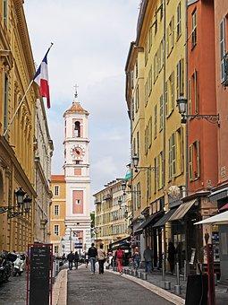 Nice, Old Town, Church, Center, Center Ville