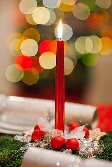 Advent, Candle, Celebration, Christmas, Decor