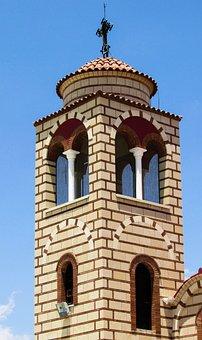 Cyprus, Agklisides, Church, Belfry, Orthodox