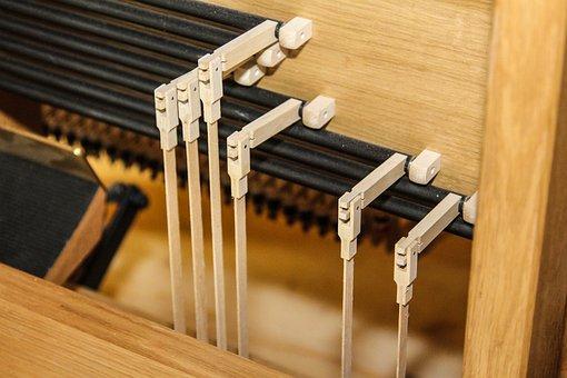 Organ, Church, Music, Instrument, Wood, Mechanics