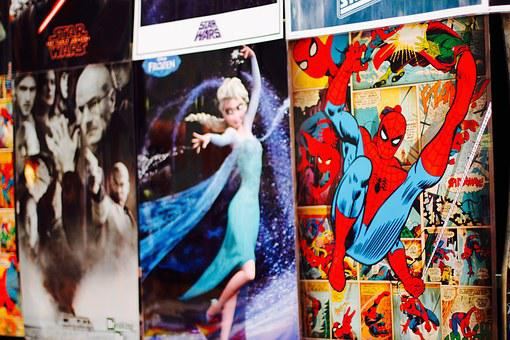 Folders, Comiccon, Dortmund, Fair, Comic, Figures
