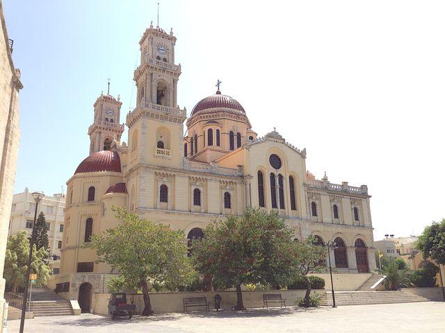 Crete, Monument, Church, Orthodox Cathedral, Héraklion