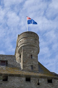 Curtain Wall, St Malo, France, Europe, Fortification