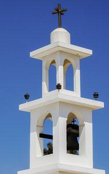 Cyprus, Avgorou, Chapel, Orthodox, Belfry, Monument