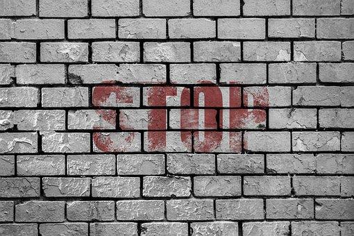 Wall, Wall Bricks, Bricks, Decadence, Stone House