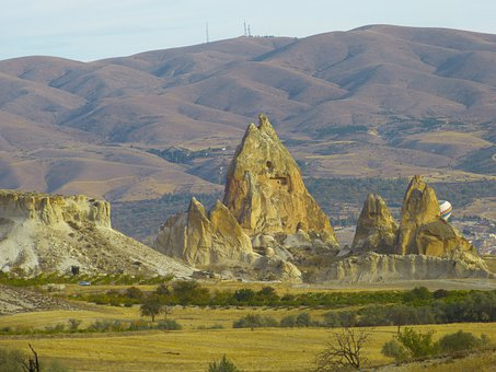 Fairy Chimneys, Tufa, Rock Formations, Cappadocia