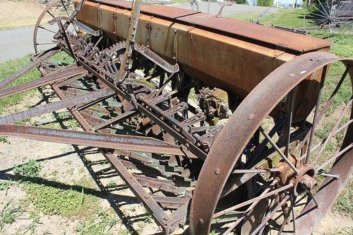 Farm, Equipment, Vintage, Machinery, Farming