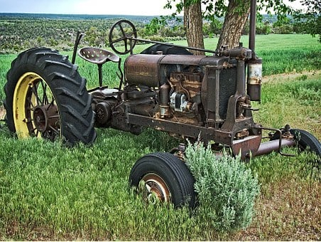 Tractor, Farmall, Farm, Rural, Antique, Classic