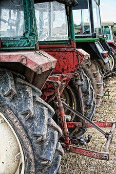Tractor, Farming, Countryside, Agriculture, Farmer