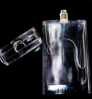 Perfume, Fragrance, Bottle, Sprayer, Lid, Cosmetics